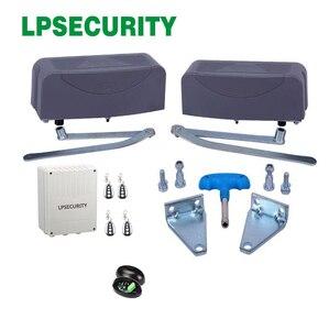Image 4 - 400 kg laden gewicht per blad Gelede Automatische Swing Gate Operator Deuropener voor Residentiële en Commerciële Gebruik