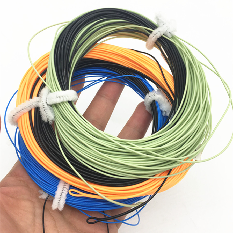 Aventik Sinking Tip Fly Line  Fast Sinking Line With 2pcs Welded Loop IPS 5-6