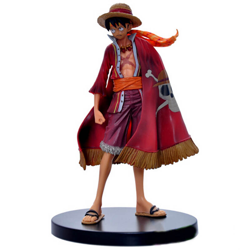 17cm Anime 2019 <font><b>One</b></font> <font><b>Piece</b></font> <font><b>Luffy</b></font> Theatrical Edition Action Figure Juguetes Figures Collectible Model Toys Christmas Toy image