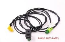 USB AUX Audio Cable Switch Plug for VW Passat B6 B7 CC Touran POLO Facelift RCD510/310