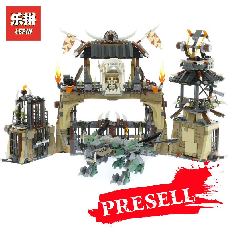 Lepin 06082 Toys Blocks Compatible Legoing 70655 Dragon Pit Set Buidling Blocks Bricks New Kids Toys Collectable Toy Gift Model