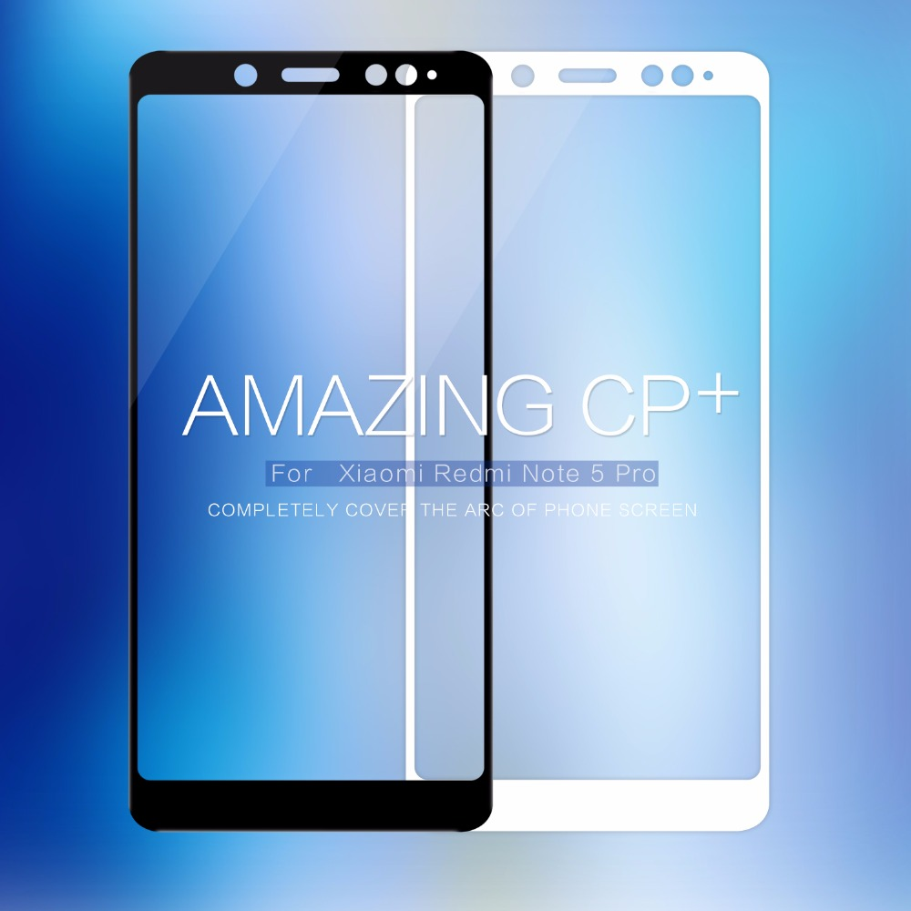 For xiaomi redmi note 5 Pro redmi 5 plus NILLKIN CP+ Full Cover Protective Film Anti-Explosion Tempered Glass Screen Protector