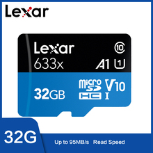Lexar 6333x Micro SD 32GB 128GB 64GB 256GB dysk 512GB Micro SD 16GB SD/dysk pamięci Flash TF 32 64 128 gb microSD