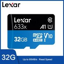 Thẻ Nhớ Lexar 633X Micro SD De 32GB 128GB 64GB 256GB Tarjeta 512GB Micro SD De 16GB SD/Tarjeta De Memoria Đèn Flash TF 32 64 MicroSD 128GB
