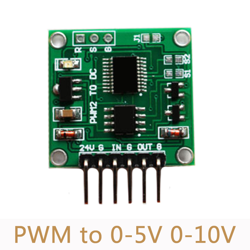 PWM to Voltage Module 0-5V 0-10V duty ratio linear conversio