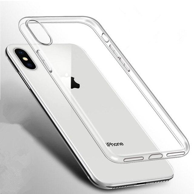 Transparante Originele Luxe Marmer Case Voor iPhone 8 7 Plus 6 6S 5 5S 5C SE 4 Zachte TPU Cover Voor iPhone 11 Pro X XS MAX XR Gevallen 2