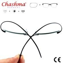 Titanium Prescription Glasses Rimless Glasses Men Fashion Business Titanium Eyeglasses Men Accessories #CT001