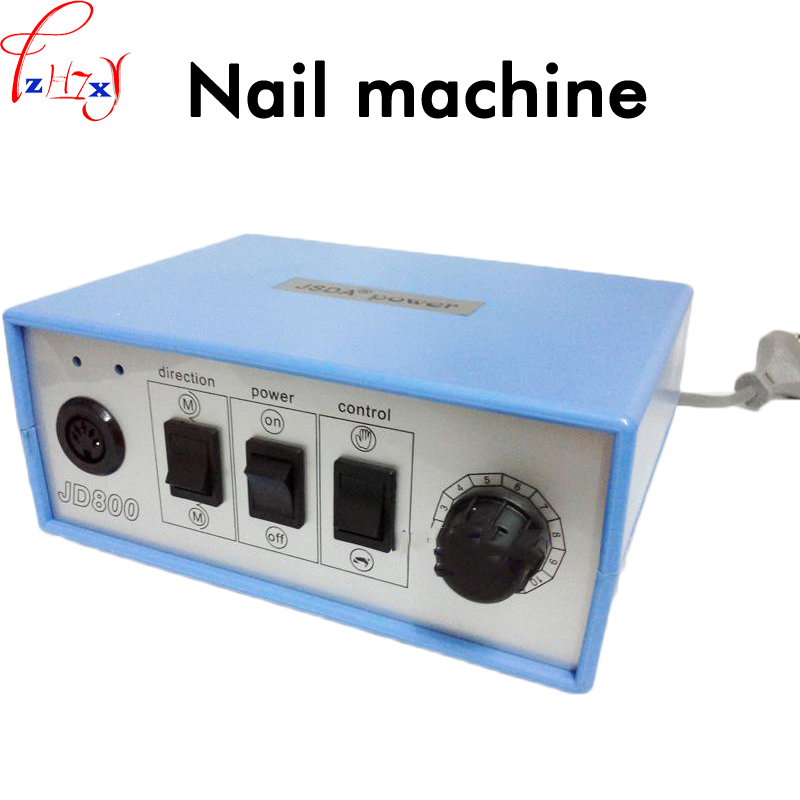 Electric nail polishing machine mini nail machine remove the skin repair nail grinding machine 220V 1PC vibration type pneumatic sanding machine rectangle grinding machine sand vibration machine polishing machine 70x100mm