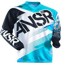2018 2017 new AR Motorcycle Long Sleeve Racing Shirt Off road ATV Racing T-Shirt Moto Jersey DH MX ATV Motocross Jerseys  size x