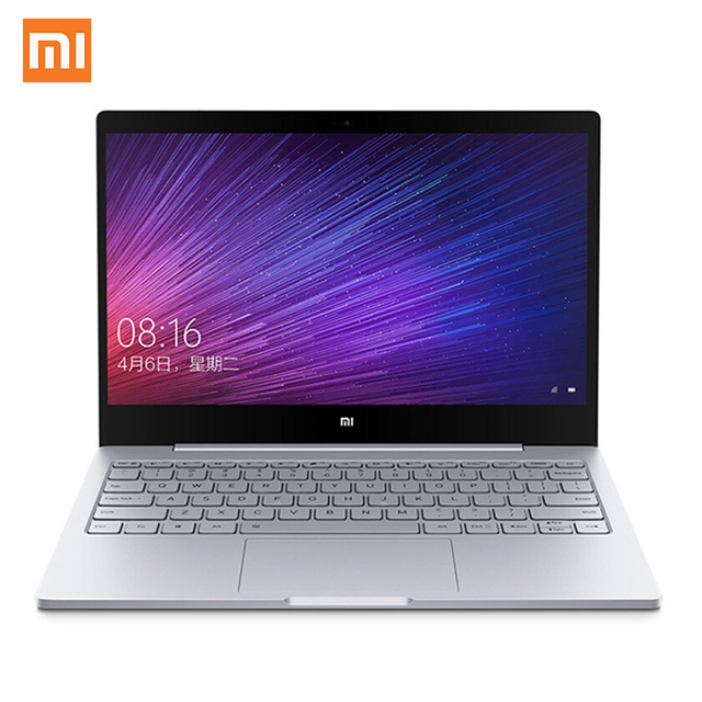 Original Xiaomi Mi Notebook Air 12.5 inch Laptop Intel Core M3-6Y30 CPU 4GB RAM Windows 10 Dual Core Ultrabook
