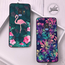 Flower For Coque Samsung Galaxy S10 Plus S20 S8 S9 Plus Case for Galaxy S10e S9 S7 edge S9 S8 S10 lite S20  Plus S7 Case Cover p232 triangle black silicone case cover for samsung galaxy s5 s6 s7 s8 s9 s10 s10e lite edge plus