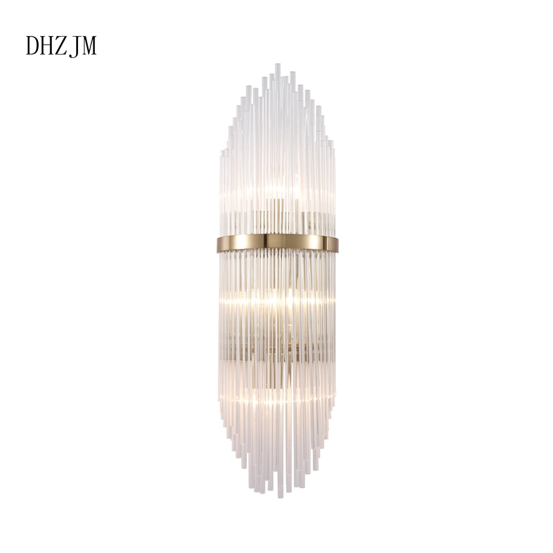 LED Art deco lamp wall lamp New Free Shipping LED Big Crystal Wall ...