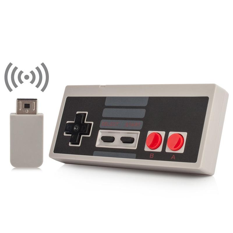 Wireless USB Stecker und Spielen Gaming Controller Gamepad für NES Mini Classic Edition für NES Controller Mit Wrireless Empfänger
