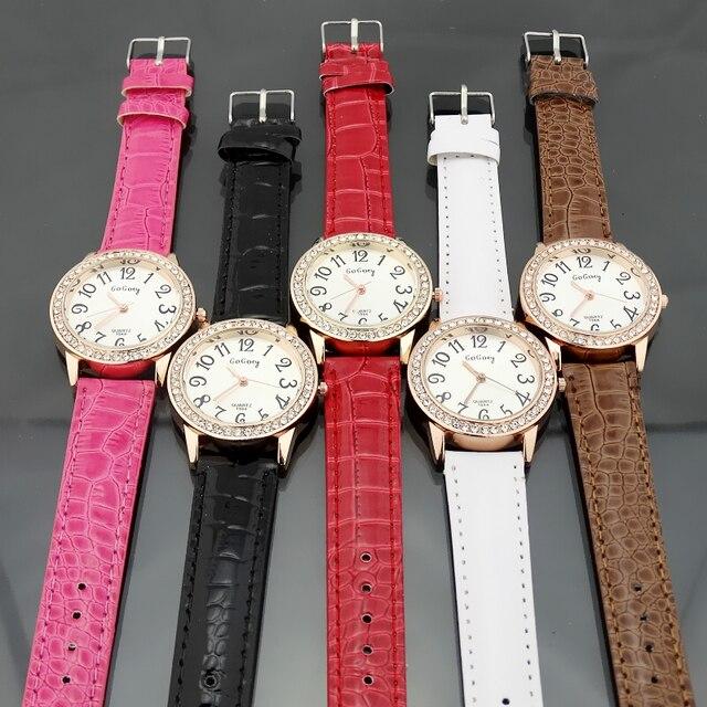 Marca Gogoey relojes mujeres rhinestone reloj de cuarzo reloj mujer 2017 reloj  cristalino de lujo relojes 84cc003bbfd6