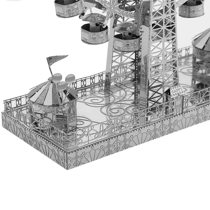 3D Metal Modell Pussel Multi-Style DIY Laser Cut Pussel Jigsaw Kit - Spel och pussel - Foto 2