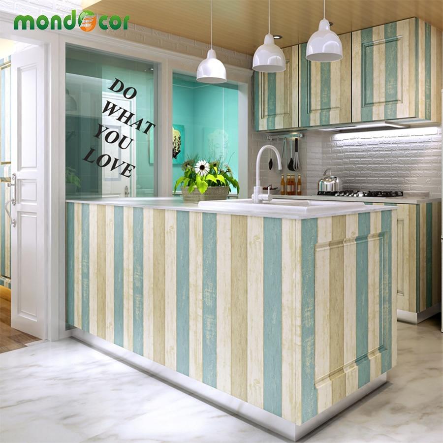 DIY Wood Grain Vinyl Contact Paper Self Adhesive Wallpaper For Bedroom Living Room Decor Kitchen Cabinet Furniture Wall Paper