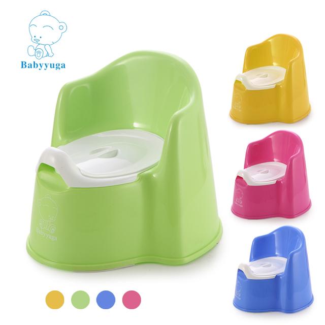 Orinal Bebé asiento Del Inodoro De Plástico Taburete Silla Formación Orinal Para Niños Orinales Niños Urinarios Portátiles Niños Niño Plegable