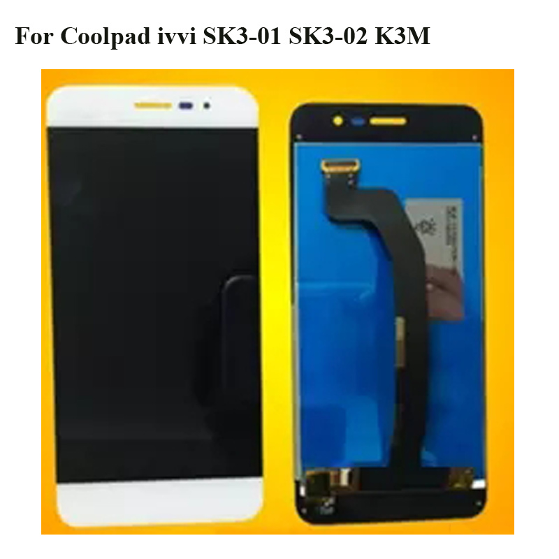 For Coolpad ivvi SK3-01 SK3-02 K3M LCD Screen 100% Original LCD Display +Touch Screen Assembly Replacement  SK3 01 02 K3 M