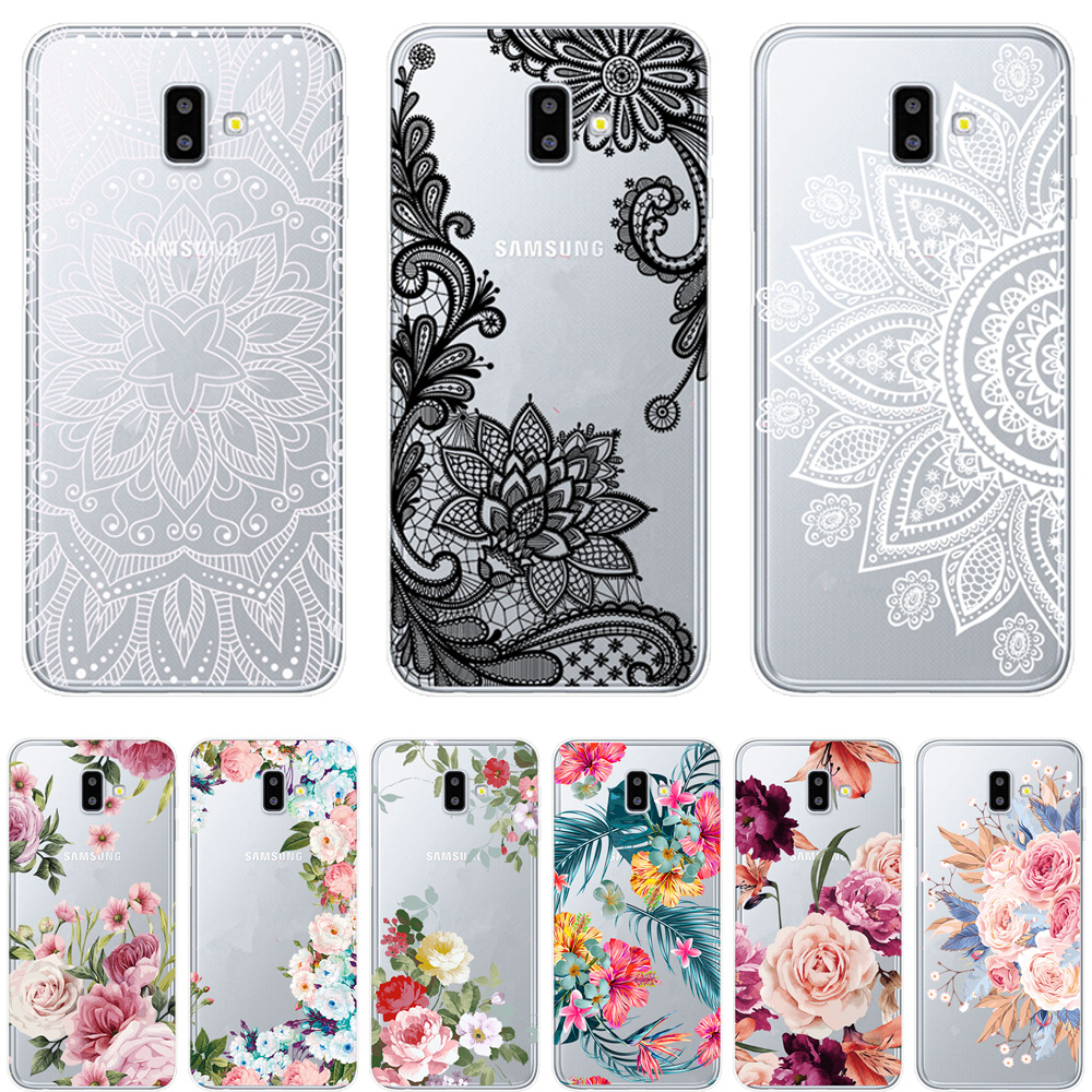 Mandragora Flower Phone Case For Samsung Galaxy J3 J5 J7 2017 J3 J5 2016 J6  2018 J4 J6 Plus Cover