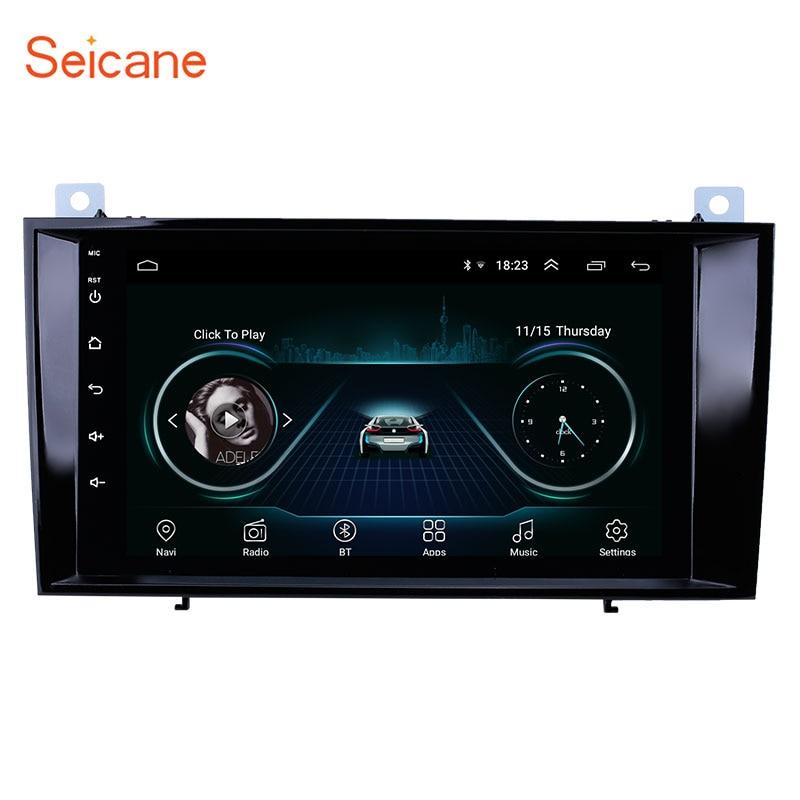 Seicane Multimedia-Player Navigation Car-Radio SLK200 Class-R171 Android 8.1 2din Mercedes-Benz