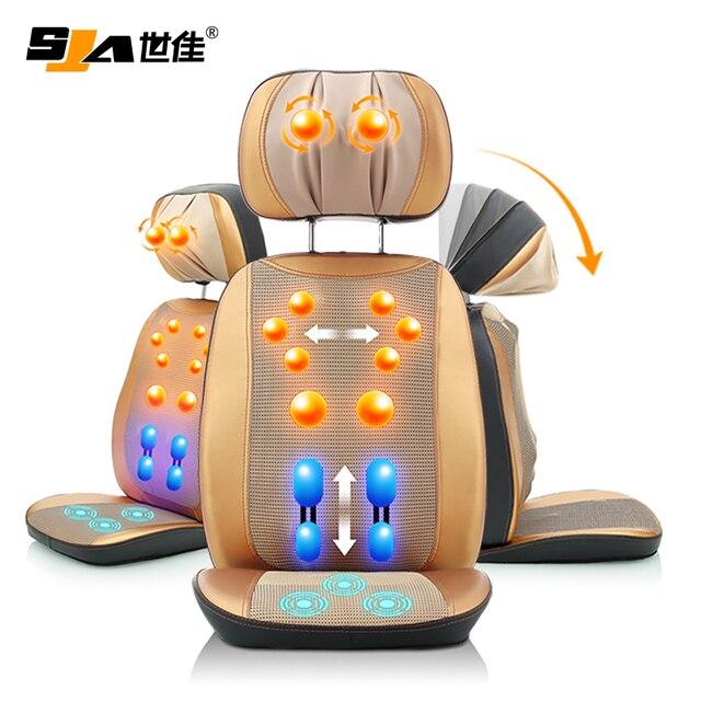 Koop deluxe massage kussen elektrische for Shiatsu massage kussen