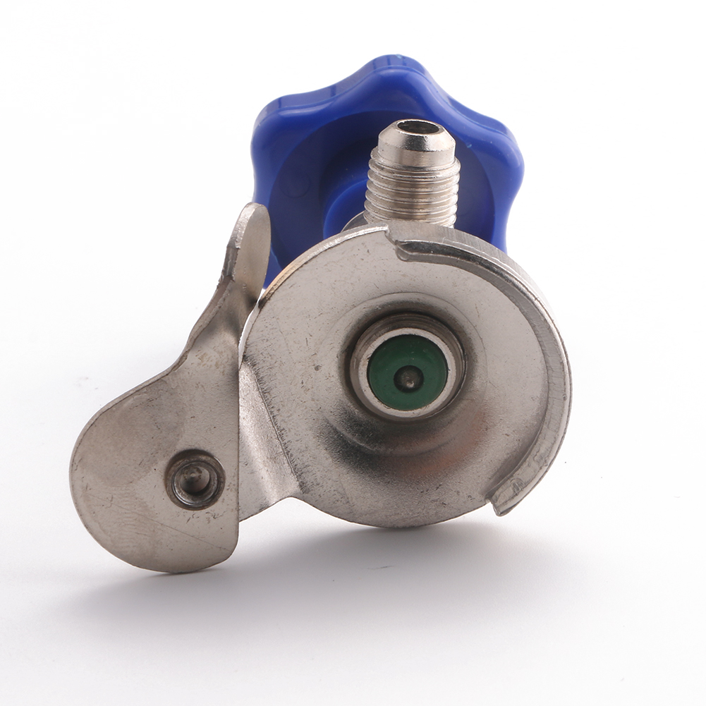 R134a R12 A C Air Conditioning Refrigerant Can Tap Valve Bottle Opener 1 4 quot SAE in Hand Tool Sets from Tools