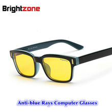 2017 eyewear glassess antiofuscante UV raios Azul computador óculos para jogos anti - a Fadiga ocular Molduras Pagar