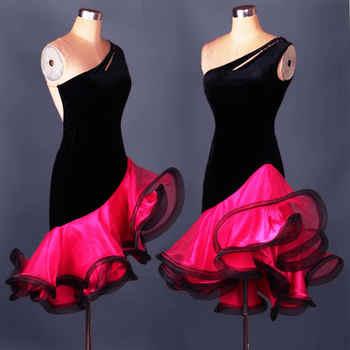 New 2017Adult/Children Latin Dance Dress Women Girls/Lady Cha Cha/Rumba/Samba/Tango/Ballroom Dance Skirt Vestido De Baile Latino - DISCOUNT ITEM  9% OFF All Category