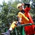 Высокое качество Косплей костюм аниме Наруто Узумаки куртки shippuden Ninja Одежда Хеллоуин Костюм Fashion Show бесплатная доставка