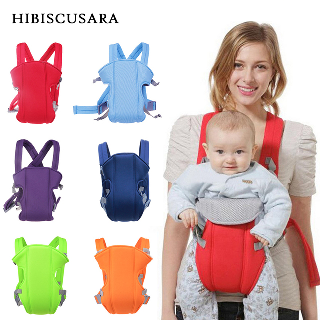 e24bc184a17 Multi-functional Baby Carrier 3-18 Months Infant Bebe Sling Breathable  Fabric Baby Backpack Pouch Wrap Kangaroo Front Facing