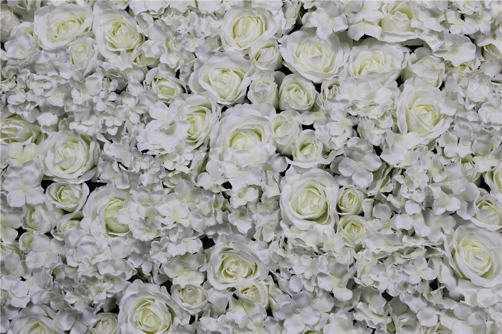 SPR 10pcs / lot Umetna svila rose cvet stena 10 barv poročno ozadje - Prazniki in zabave - Fotografija 3