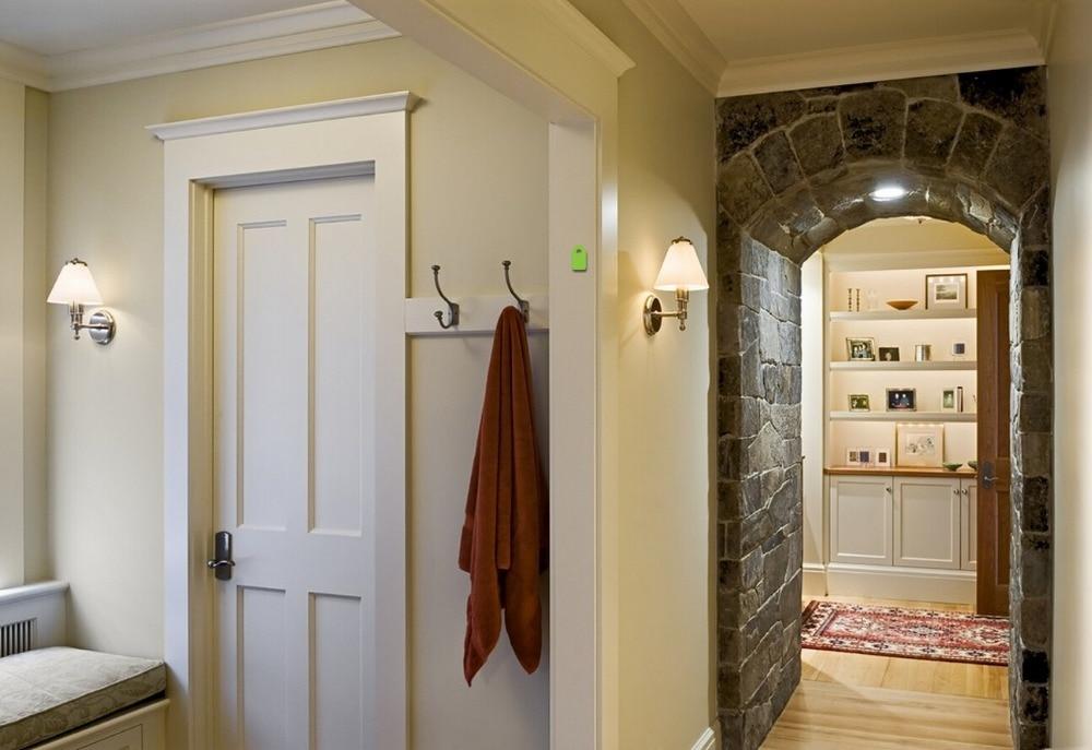 2017 Hot Sale Highly Durable Shaker Style Square Profiles Solid Wood Door  Paint Grade Interior Wood Door Closet Doors ID1606010