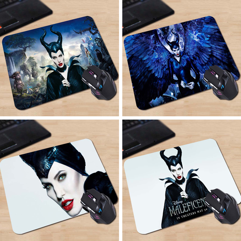 maleficent angelina jolie Hot Sale Mouse Pad Computer Gaming MousePads