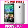 "Original htc one mini 2 m8 mini qual core 4.5 ""de pantalla táctil 16 GB De Almacenamiento 13MP Cámara WIFI GPS 4G LTE Teléfono Android Reformado"