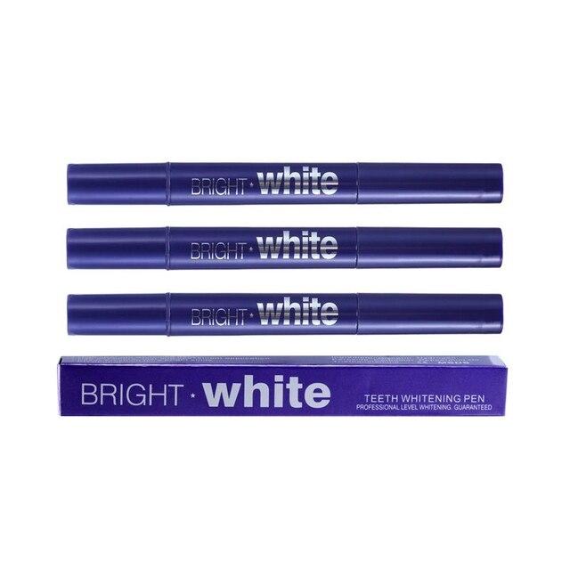 Cepillo de limpieza de dientes de Gel de 2,5 ml lápiz de blanqueamiento Dental portátil vida diaria fácil de usar herramienta de blanqueamiento Dental 1 pc TSLM2