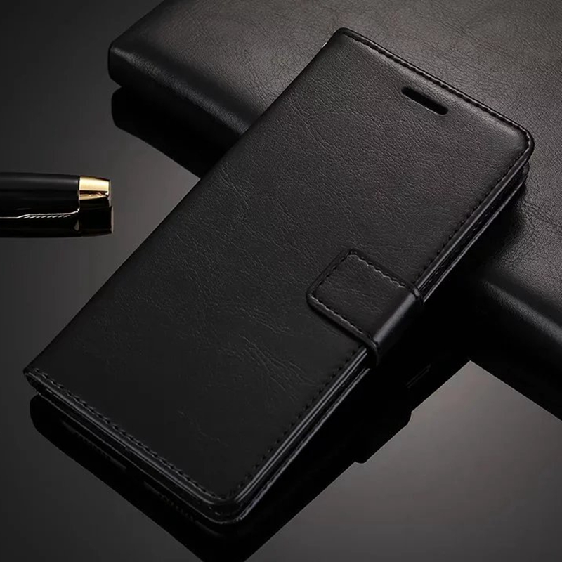 Leather Phone <font><b>Case</b></font> For <font><b>Samsung</b></font> Galaxy S3 S4 <font><b>S5</b></font> <font><b>Mini</b></font> S6 S7 Edge S8 S9 Plus A3 A5 A7 2016 2017 J2 J5 J7 Prime Wallet Cover image