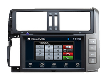 Wince 6.0 CAR DVD PLAYER Sunplus 8288T solution FOR toyota prado Autoradio stereo multimedia player bluetooth gps