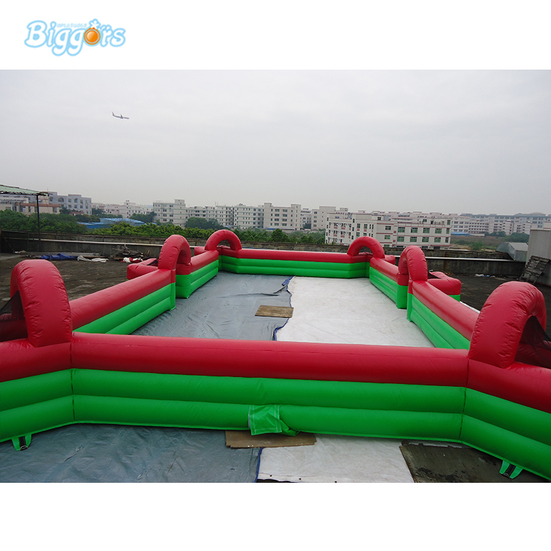 Inflatable Human Football Billiards Inflatable Table Soccer Game sea shipping adult games inflatable soccer field football table inflatable human foosball court