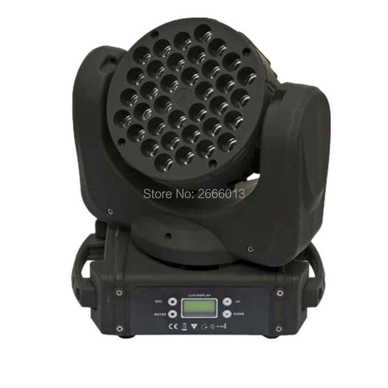 LED beam moving head light 36x3w rgbw color DMX512 channels for dj disco  parties show lights LED Linear wash light
