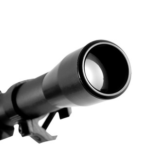 Image 2 - Outdoor 4x20 Crosshair Air Rifle Telescopic Things Scope Mounts Hunting Sniper Scope Spotting Scopes For 22 Caliber