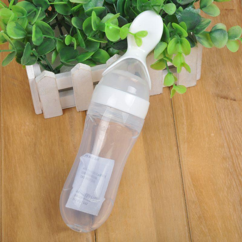 Ny spädbarnsilikagelmatningsflaska med skedmatillskott - Äta och dricka - Foto 3