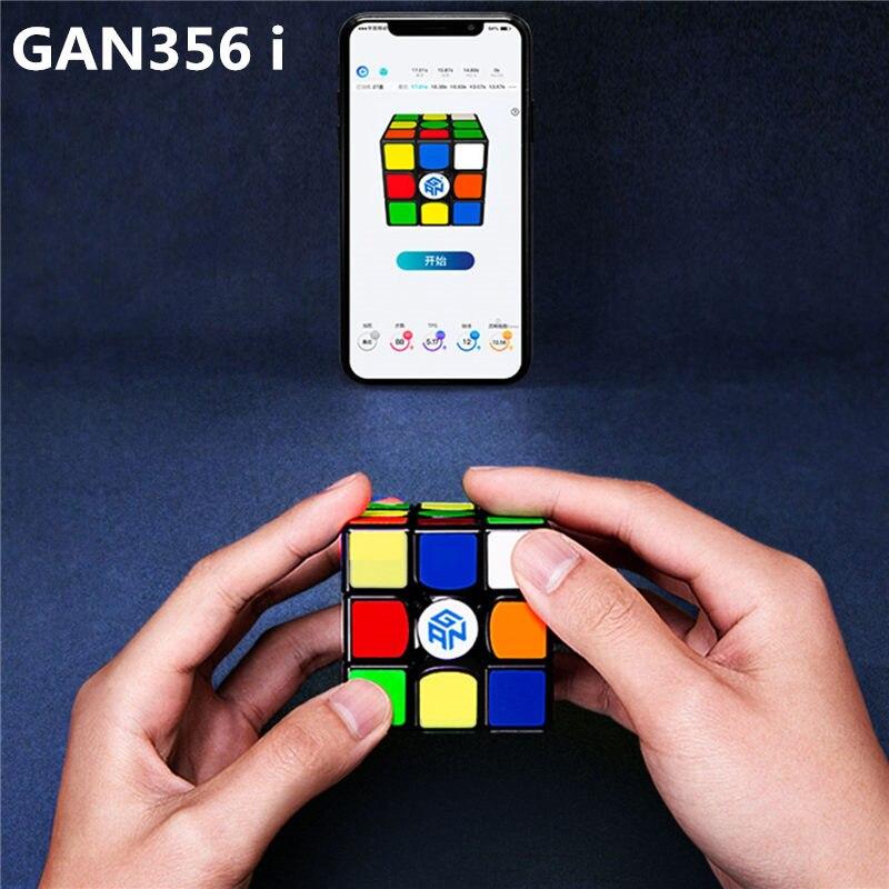Nouveau GAN356 i Cube de vitesse magique magnétique gan356i aimants compétition en ligne Cubes GAN 356 i