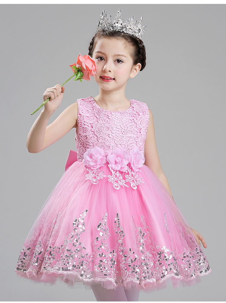Aliexpress.com : Buy Sequin 1 Year Old Baby Girl Dress ...
