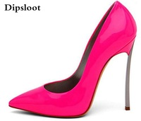 Brand Shoes Woman High Heels Women Pumps Stiletto Thin Heel Women S Shoes Hot Pink Pointed