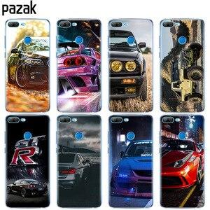 Silicone Case for Huawei Honor 10 V10 3c 4C 5c 5x 4A 6A 6C pro 6X 7X 6 7 8 9 LITE soft tpu coque bumper Cool sports car design(China)