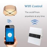EU Wireless Wi Fi Wall Light Touch Switch Remote Control Panel On Off Sensor Alexa Board