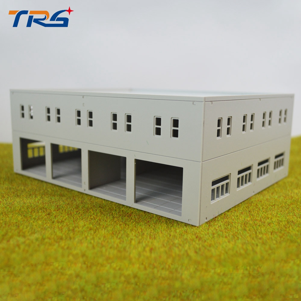 Teraysun Sand Table Model Building Layout 1:100 Scale Factory Model Toy Mini Model Factory for Model Scenery Layout