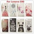 2016 novo e caso para lenovo s90 quente diamante de cristal de luxo 3d bling capa hard case plástico para lenovo s90 telefone celular caso