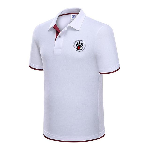 Camisa dos homens Polo Marca Mens Camisas Pólo Cor de impressão Camisa  Masculina Ocasional dos homens 0869c322c29a5