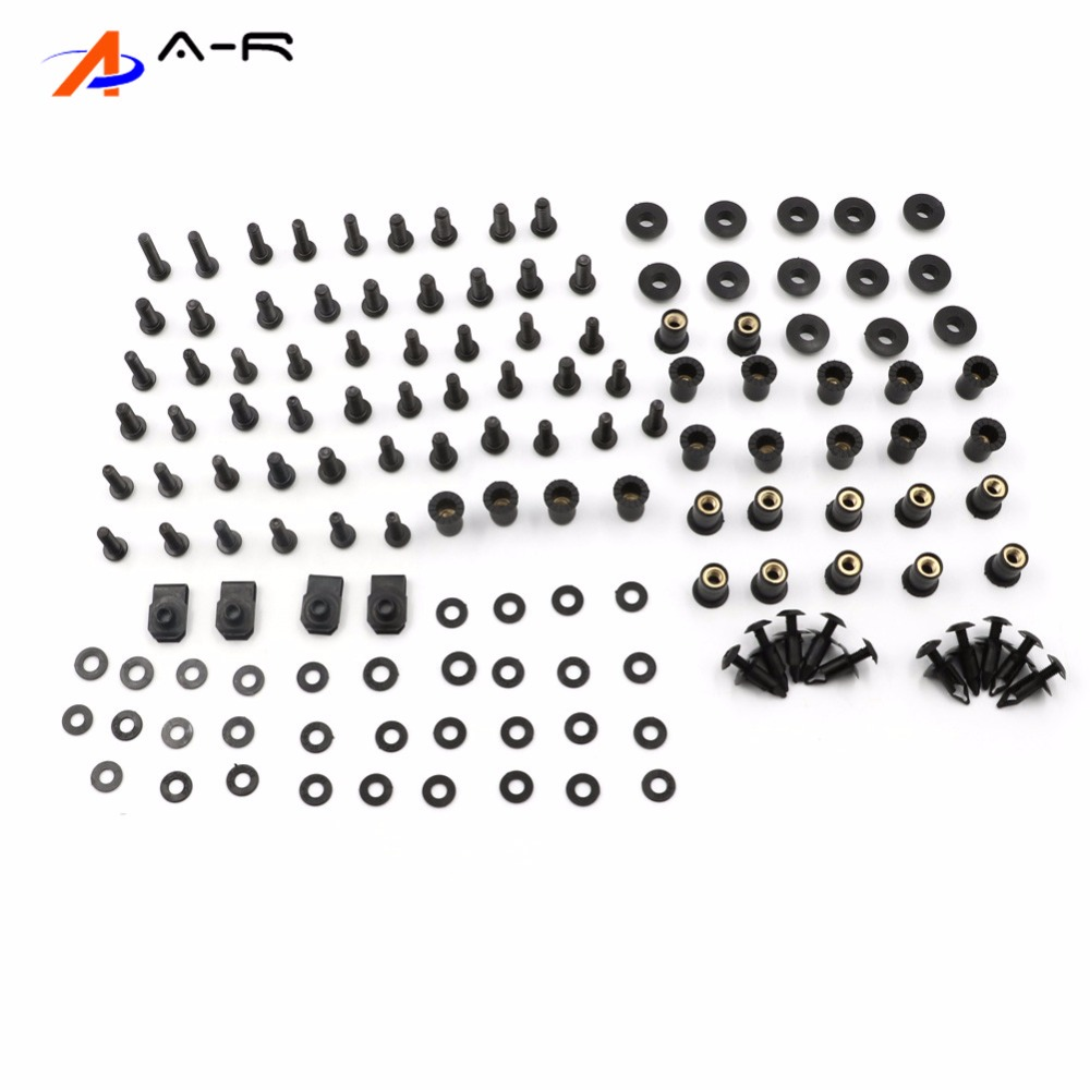 Complete Fairing Bolts Nuts Fastener Clips Screws Washer